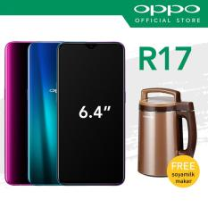 [OPPO Official] OPPO R17 with 2 Years Warranty (Free Joyoung 3-in-1 Soyamilk Maker)