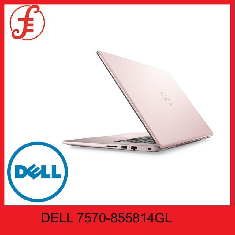 DELL 7570 855814GL INSPIRON 15 7000 W10 SLR 15.6 IN INTEL CORE I7 8550U 8GB 256GB M.2.+1TB WIN 10