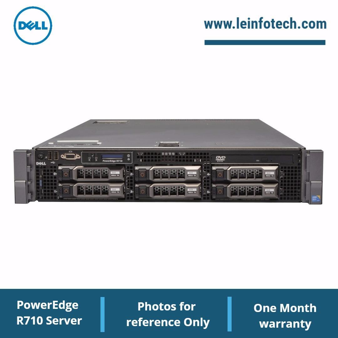 Dell PowerEdge R710 Storage Server Xeon 12Core X5650 16GB 18TB (New) HDD H700