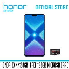 Honor 8X 4/128GB – Free 128GB MicroSD Card