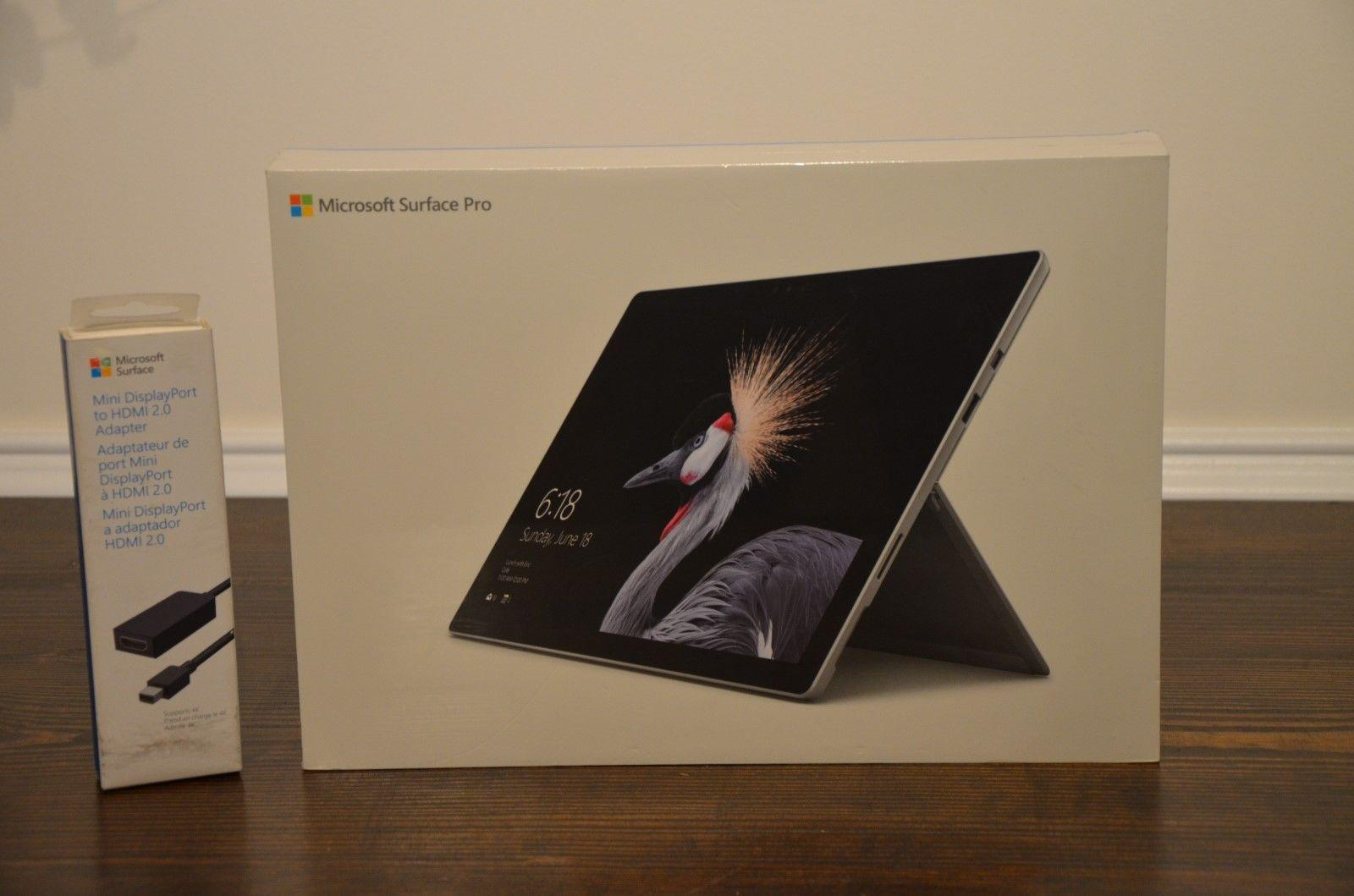 Microsoft Surface Pro 256GB Core i7-7660U 8GB Wi-Fi 12.3