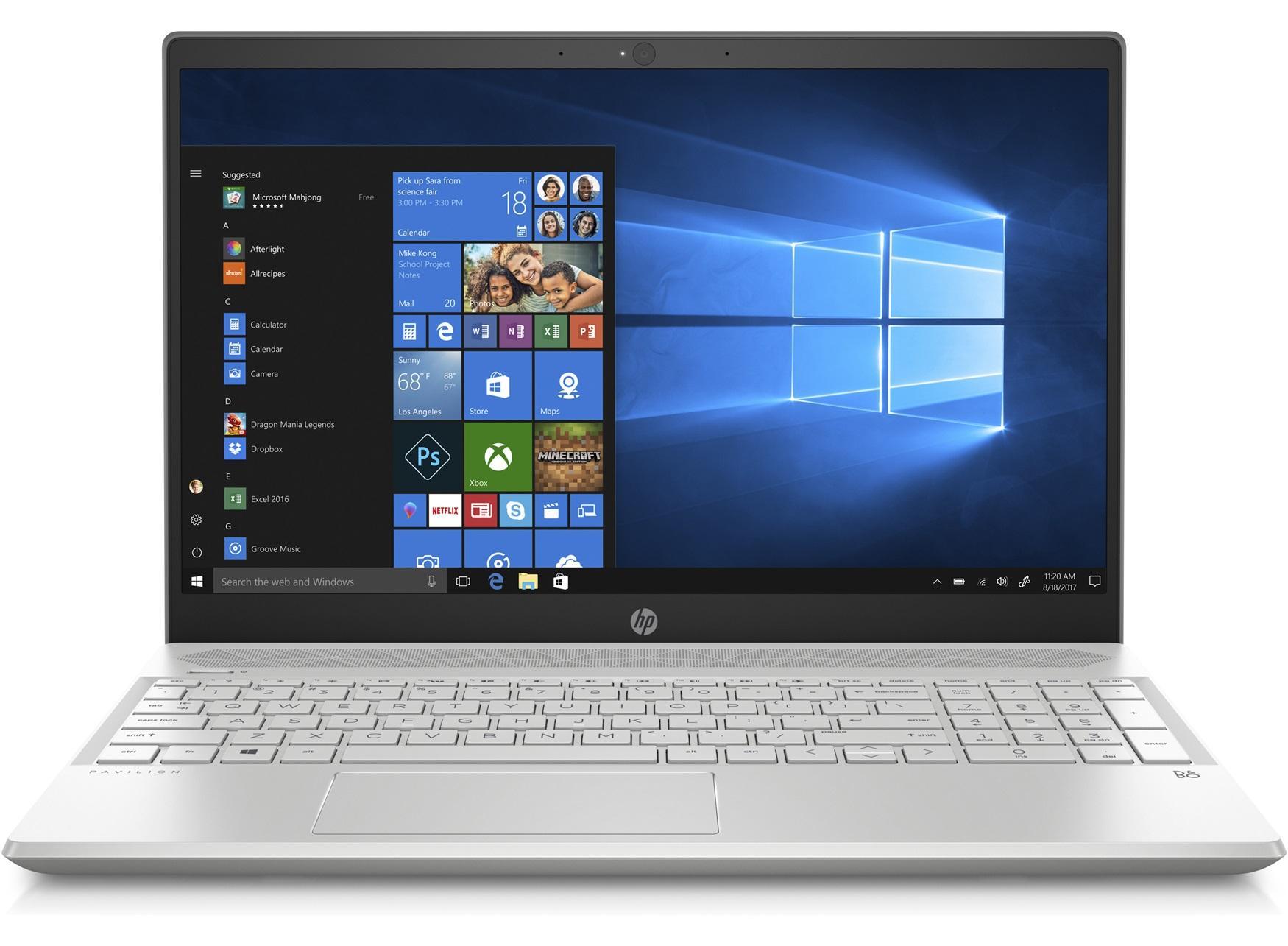 HP 15-CS0080TX PAVILION (8th Gen Intel i7-8550U Processor, 16GB RAM, NVIDIA GeForce MX150 2GB GDDR5, 256GB SSD + 1TB HDD)