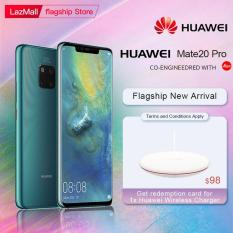 New Arrival Huawei Mate 20 Pro 6GB 128GB AI Leica Triple Rear Camera Kirin 980 CPU 6.39″ 3120x1440P FullView Screen Android 9 Smartphone