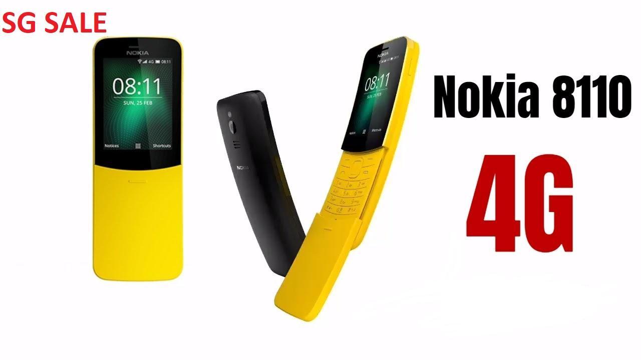 Nokia 8110 4G (1 YEAR WARRANTY)