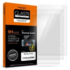 SPIGEN Nintendo Switch Tempered Glass Screen Protector (3 Pack) – VALUE BUY!!