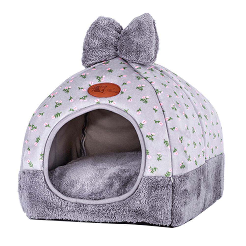 Khối Cho Thú Cưng Chó Sofa Giường Ấm Lên Nhà Cho Chó Mềm Chó Tổ Mùa Đông Chó Giống cho Chó Con Chó Mèo Thú Cưng