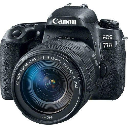 Canon EOS 77D with 18-135mm IS USM Lens export