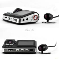 X6 CAR DVR FRONT AND REAR CAMERA