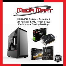 MSI NVIDIA Battlebox Essential 1, Performance Gaming Desktop