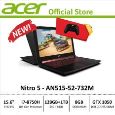 Acer Nitro 5 (AN515-52-732M) Gaming Laptop – 8th Generation i7 Processor with GTX 1050 Graphics – Free Xbox Wireless Controller
