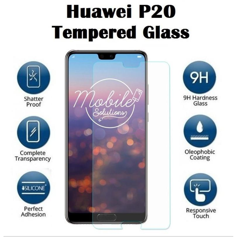 Huawei P20 Tempered Glass Screen Protector (Clear)