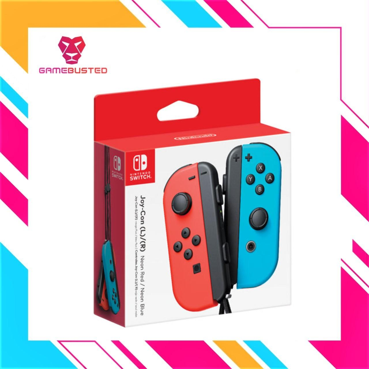 NINTENDO SWITCH Joy-con Duo Pack Left+Right (NEON RED/NEON BLUE)