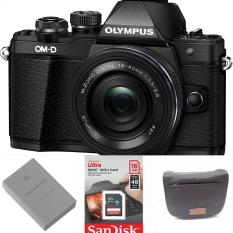Olympus OM-D E-M10 Mark II Mirrorless Micro Four Thirds Digital Camera with 14-42mm Lens warranty