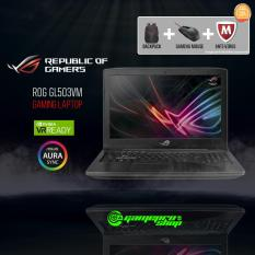 ASUS ROG Strix GL503VM – FY359T (i7-7700HQ/ GTX1060 6GB/ 128GB SSD+ 1TB HDD) 15.6 FHD *END OF MONTH PROMO*
