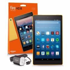Amazon Fire HD 8 Tablet with Alexa, 8″ HD Display, 16 GB, Yellow