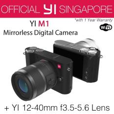 YI M1 Mirrorless Digital Camera with 12-40mm F3.5-5.6 Lens (Storm Black)