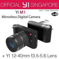 YI M1 Mirrorless Digital Camera with 12-40mm F3.5-5.6 Lens (Storm Black)