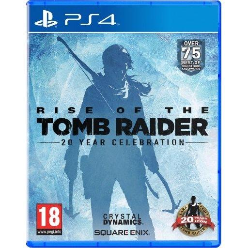 PS4 Rise Of The Tomb Raider: 20 Year Celebration-EUR(R2)(CUSA 05716)