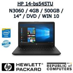 HP 14-bs545TU N3060 / 4GB / 500GB / 14″ / DVD-RW / WIN 10