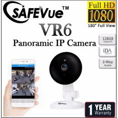 SAFEVue Panoramic IP Camera VR6 Night Vision 180° View 1 Yr Warranty