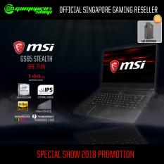 8th Gen MSI GS65 Stealth 8RE-Thin (8th-Gen / GTX1060 / 256GB SSD) 15.6″ with 144Hz Gaming Laptop *OCT PROMO*