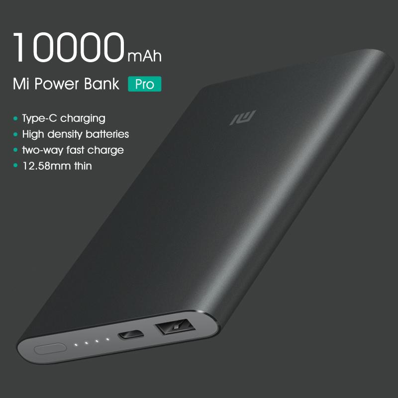Xiaomi 10000mAh Pro Powerbank (BLACK) – LOCAL WARRANTY