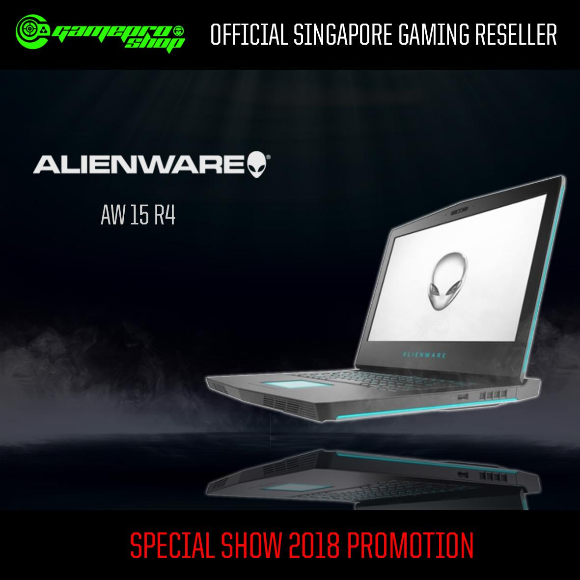 8th Gen ALIENWARE AW15 R4 -875F816G-W10-1060 EXCLUSIVE (8th-Gen/GTX 1060 6GB GDDR5) 15.6