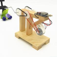Công nghệ DIY Máy phát điện thủ công sản xuất nhỏ sáng chế lắp ráp mô hình đồ chơi thí nghiệm quà tặng giáng sinh