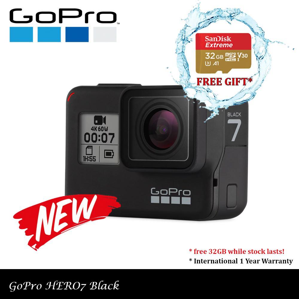 GoPro HERO7 Black (with Free 32GB microSD)