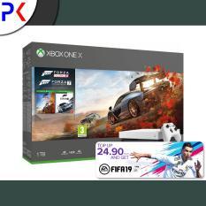 Xbox One X 1TB (ASIA) White Special Edition Forza Horizon 4 + Forza 7