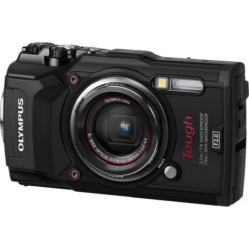 Olympus Tough TG-5 Digital Camera Black (warranty)