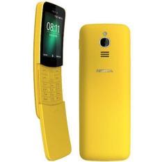 Nokia 8110 4G Dual Sim (Yellow) – 1 Year Local Warranty