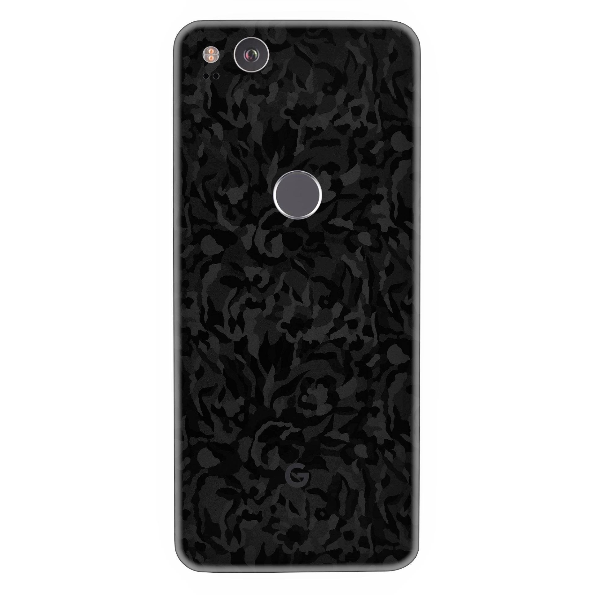Google Pixel 2 Black Camo skin