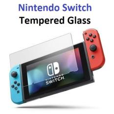 Nintendo Switch Clear Tempered Glass Screen Protector – 9H Toughness – Good Sensitivity – Crystal Clear Clarity – Anti-Scratch – Precise Fit – Local SG Seller