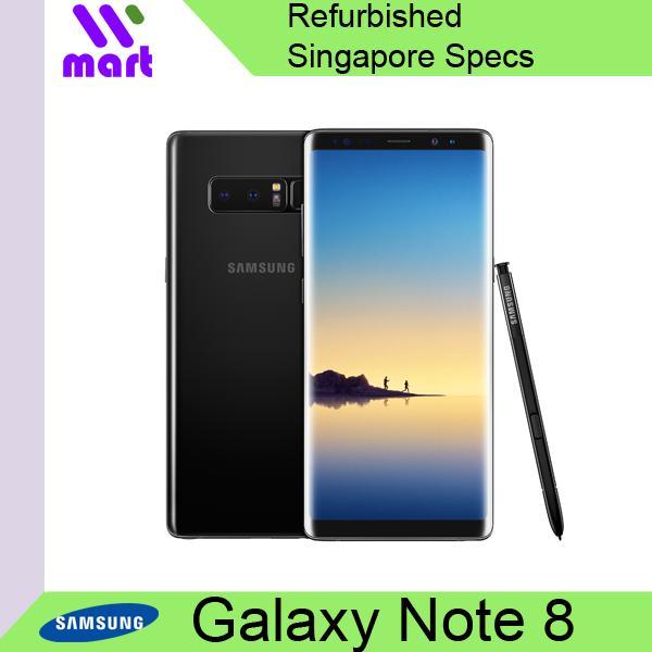 [Refurbish] Samsung Galaxy Note8 Singapore Specs