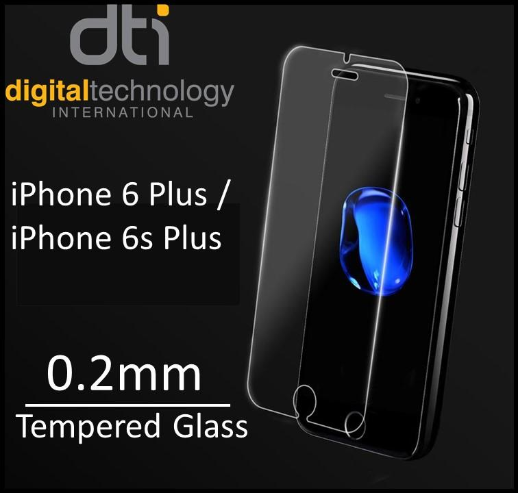 [Buy 1 FREE 1]iPhone 6 Plus / 6s Plus Tempered Glass Screen Protector [0.2MM][Non-full Coverage]