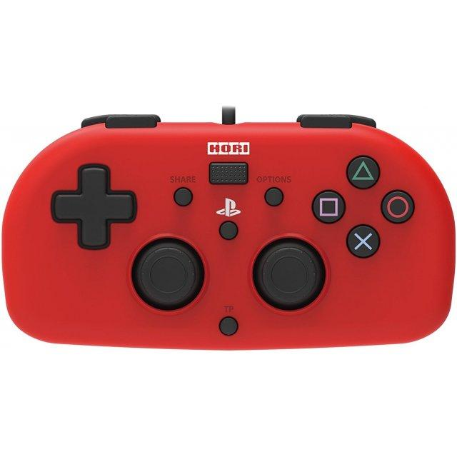 PS4-101 Hori Wired Controller Light(Red)(PS4)-JP(R3)(1968-54RDKX)