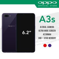[OPPO Official] OPPO A3S Smartphone / 2 Years Warranty / Free Powerbank