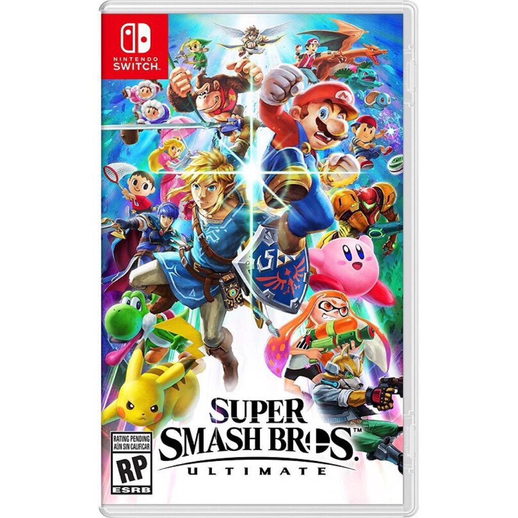 Pre-Order!!! Nintendo Switch Super Smash Bro Ultimate (ship earliest 7th Dec)
