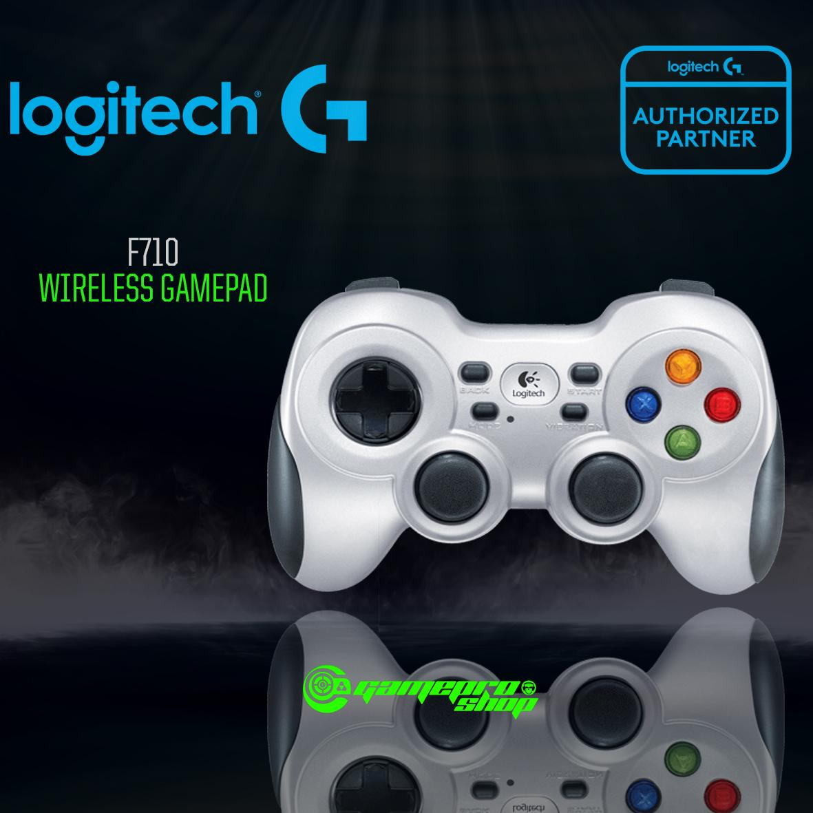 Logitech F710 Wireless Gamepad Gaming Controller *11.11 PROMO*