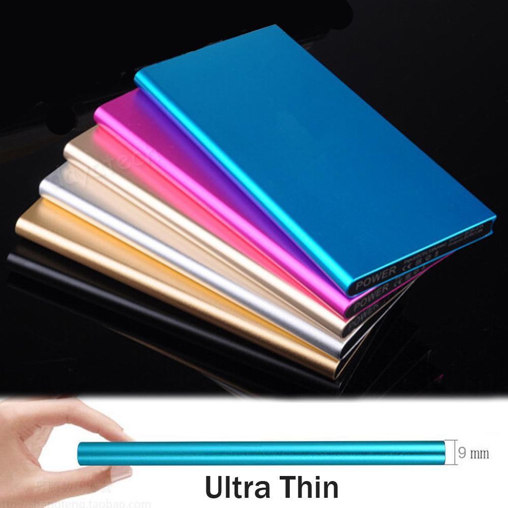 20000mAh High Capacity PowerBank / Ultra Slim Power Bank with LED Light Portable Quick Phone Charger Super Thin Expternal Backup...