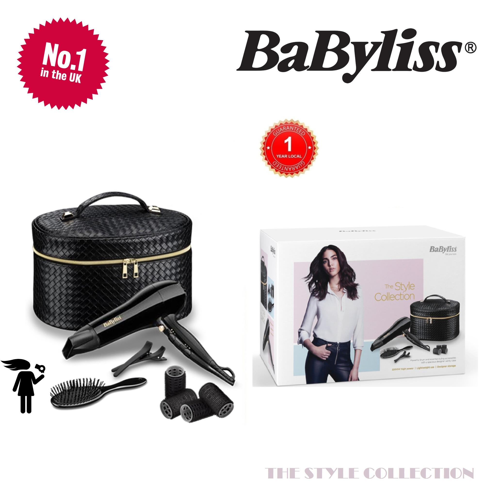 babyliss style collection hair dryer