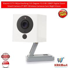 Original Xiaomi CCTV Mijia Xiaofang 110 Degree F2.0 8X 1080P Digital Zoom Smart Camera IP WIFI Wireless Camaras Cam Night Vision