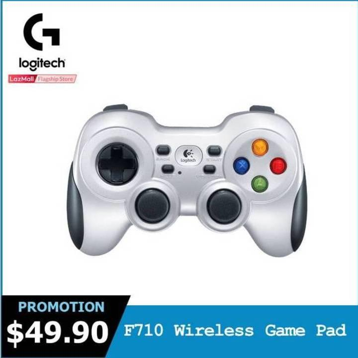 Logitech F710 Wireless Gamepad for PC Gaming and Android TV #GearUpForRewardsSep2018