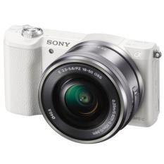Sony Alpha 5100L DSLM with SELP 16-50mm Lens Kit