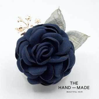 สาธารณรัฐเกาหลีผ้าเส้นใยดอกคาเมลเลียดอกไม้เข็มกลัดเรียบง่ายบรรยากาศแฟชั่นเข็มกลัดดอกไม้ติดอกเข็มกลัด (pin) เสื้อกันหนาวเสื้อคลุมใหญ่ความนุ่มนวลเครื่องประดับหญิง