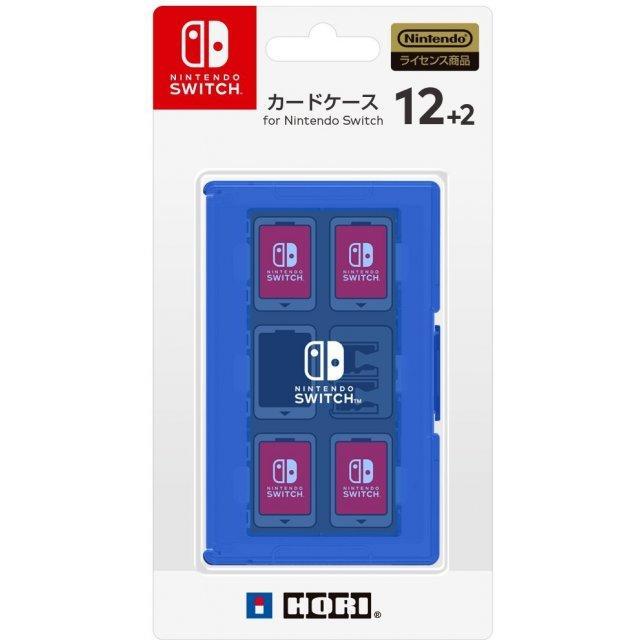 NSW-022 Hori Nintendo Switch Card Case 12+2 Blue-JP