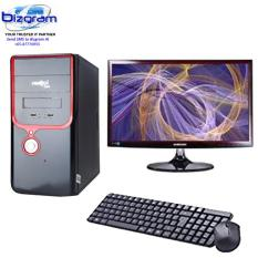 Bizgram MSI PC AMD 1700X, AMD Motherboard, 4GB DDR4, 3TB, 1GB Graphic PCIE 16x, FREE USB Keyboard Mouse Antivirus, 24inch Monitor With 3 Years Warranty