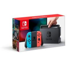 Nintendo Switch Console Neon/Red or Gray/Gray – 1 Year Local Warranty