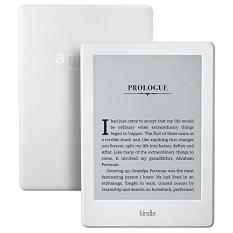 Amazon Kindle 8th Gen White 2016 (Latest, With Special Offers, USA Edition) + 1 x Glossy, 1 x Matt Screen Protector (USA/Special Offers)